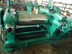 The practice, rubber mixing, vulcanizing machine